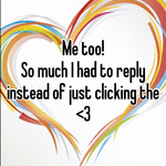 Me too!  So much I had to reply instead of just clicking the <3
