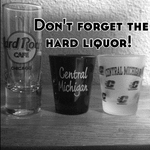 Don't forget the hard liquor!