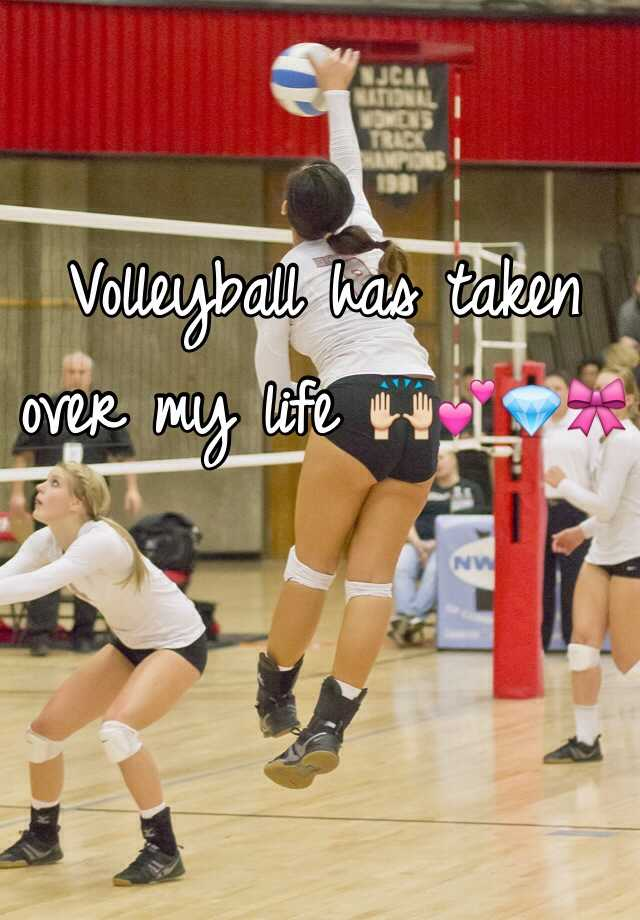 Volleyball has taken over my life 🙌💕💎🎀